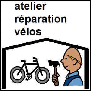 atelier réparation vélos