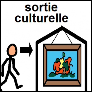 atelier sortie culturelle