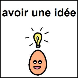 avoir une idée (2)