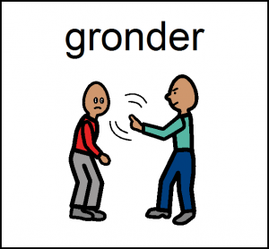 gronde