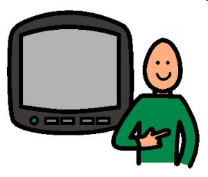 je veux regarder la TV