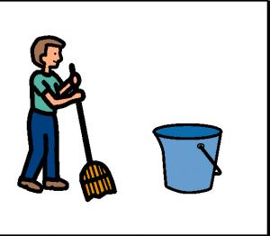 laver par terre