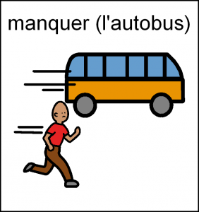 manquer bus