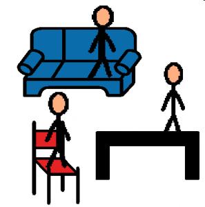 monter sur les meubles