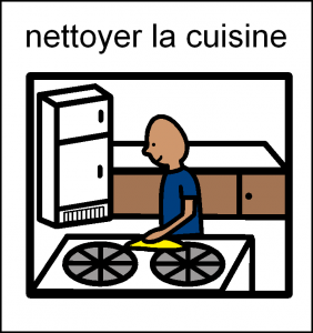nettoie cuisine