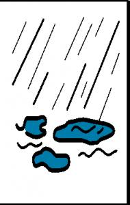 pleuvoir