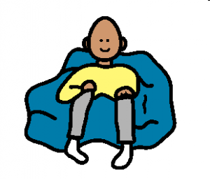 s'asseoir se reposer
