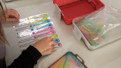 comptage des cuillères par couleur