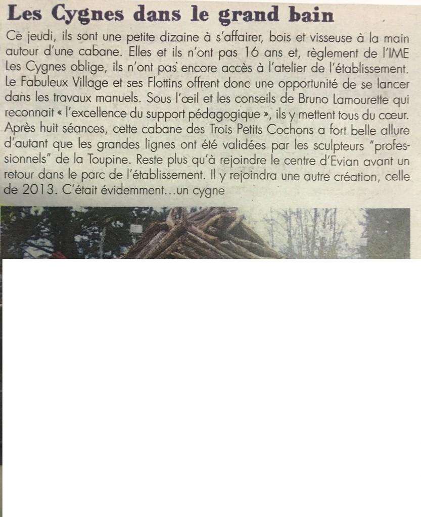 Flottins IME Les Cygnes (sanas photo)